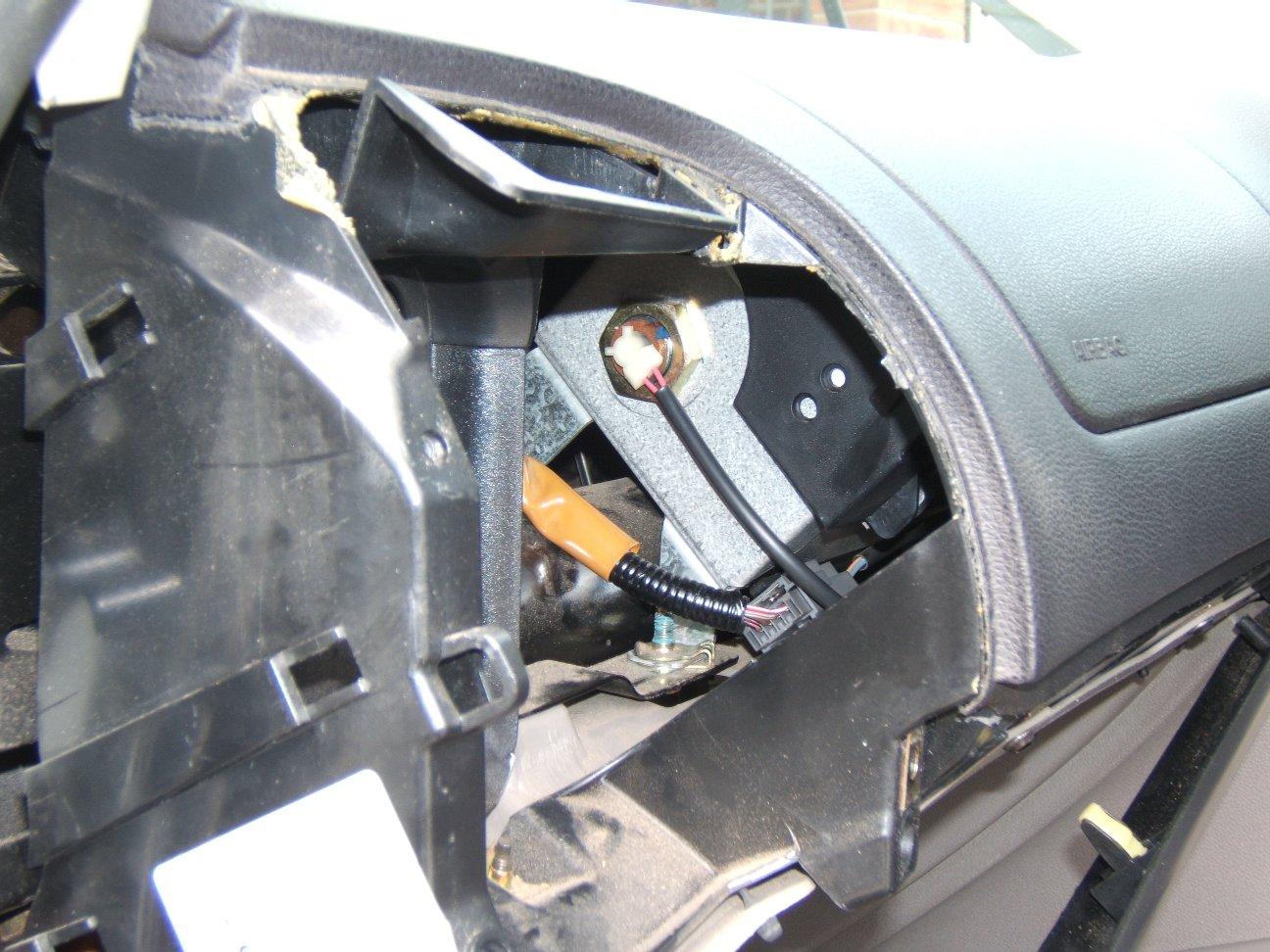 fixing  airbag light seat belt pretensioner error