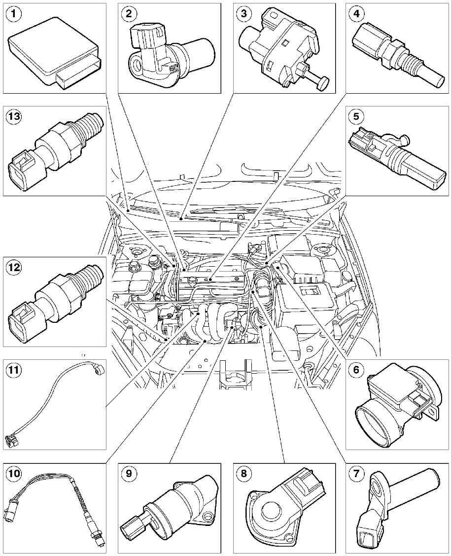 Wiring diagrams now available australian ford forums here is the more detailed diagram the item numbered 1 is the pcm this suggests it might be up under the dash pooptronica