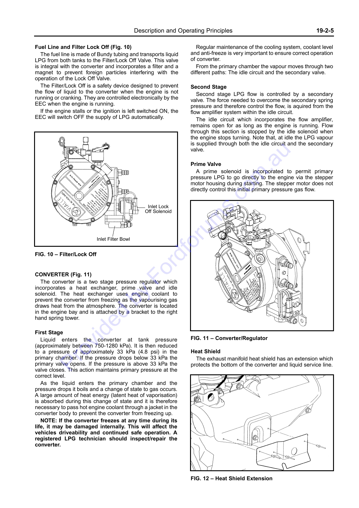 au wsm page 1 of 8 rh fordforums com au Service ManualsOnline Parts Manual