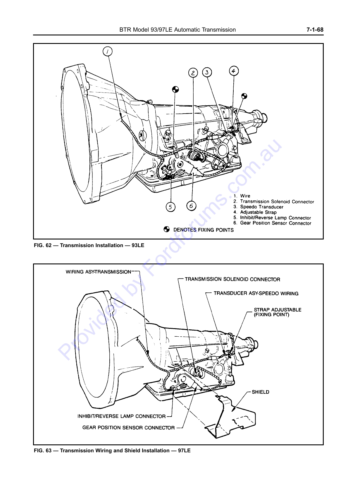 Ford Btr Transmission Manual Cvt Wiring Diagram Au Wsm Page 1 Of 33 Rh Fordforums Com Mustang