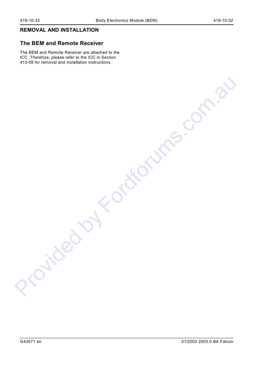 Au Wsm Page 1 Of 32 Falcon Bem Wiring Diagram Img