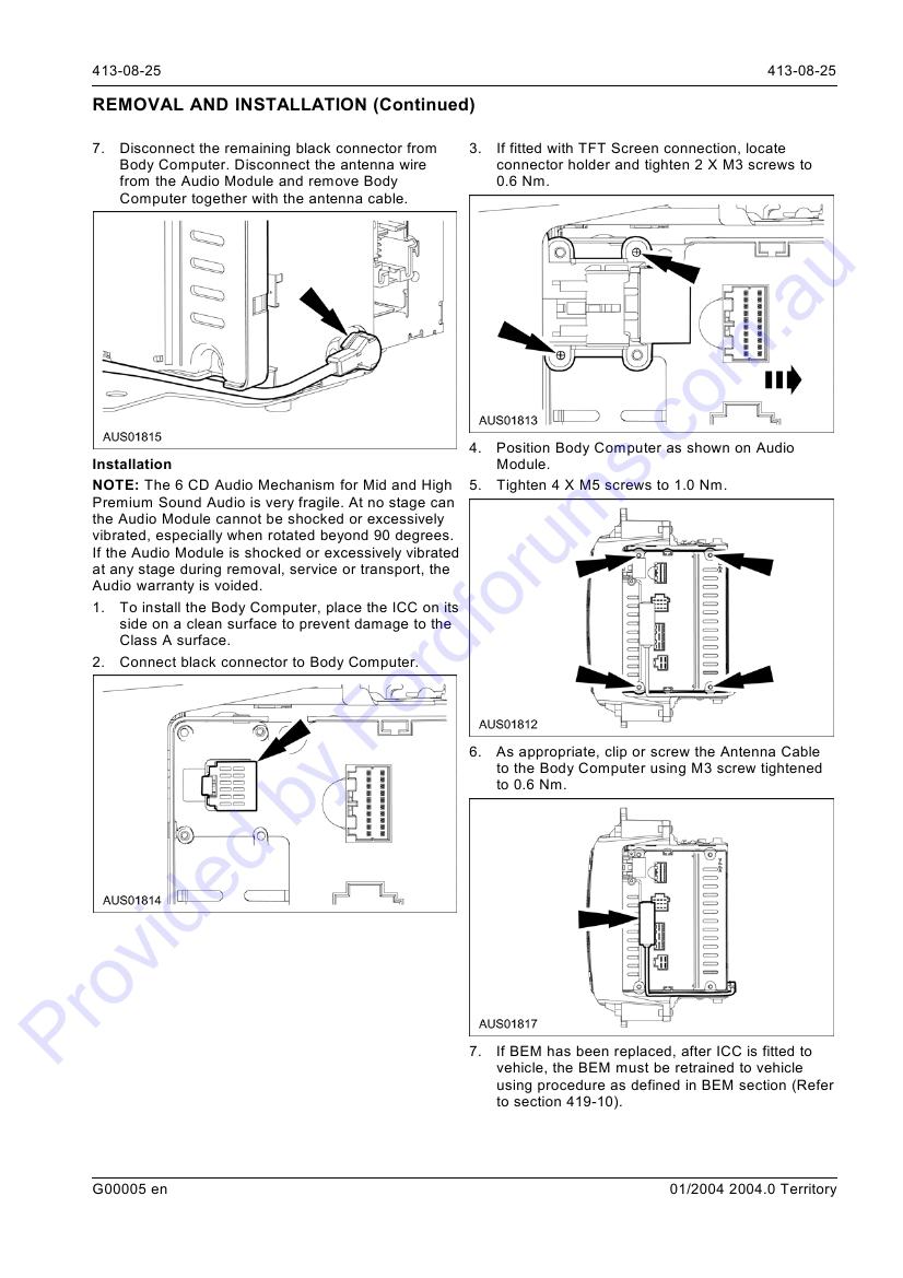 sx page 1 of 27 rh fordforums com au