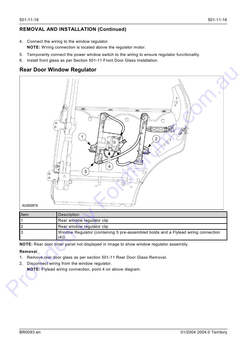 SX - Page 1 of 27   Ford Territory Power Window Wiring Diagram      Australian Ford Forums
