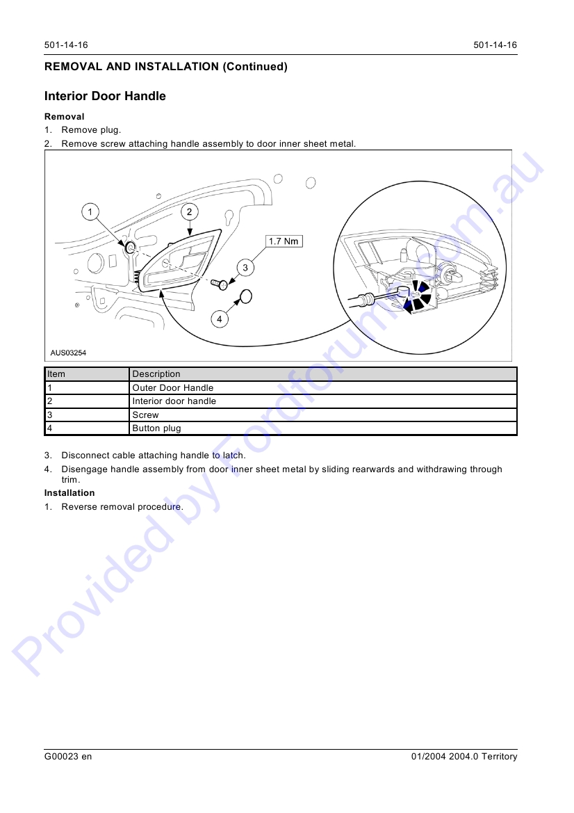 Sx Page 1 Of 22 Diagram How To Replace A Defective Sliding Door Latch Ford Img