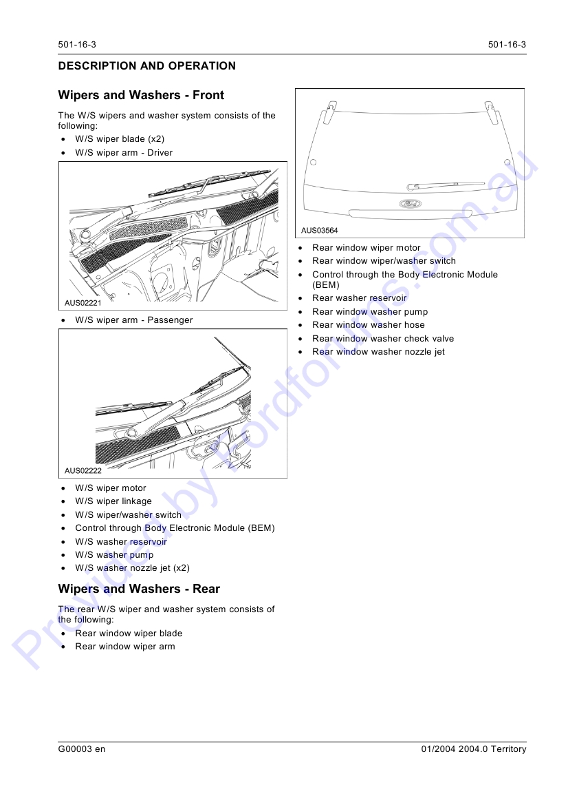 Sx Page 1 Of 12 Ford Rear Wiper Motor Wiring Diagram Img