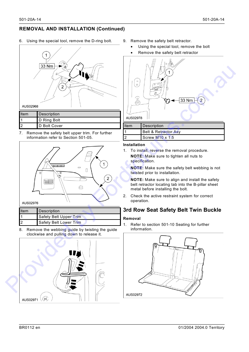 Sx Page 1 Of 15 Ford Seat Belt Retractor Diagrams Img
