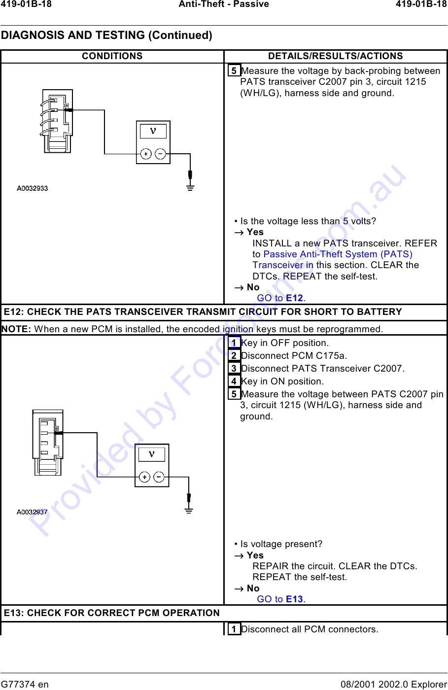 Ford Pats Wiring Diagrams Library 2002 Explorer Fuel Pump Further Diagram In Addition 2000 Taurus
